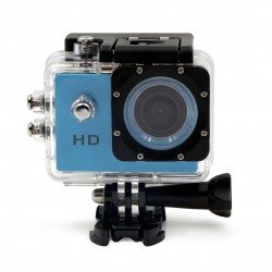 SWISS GO ACTION CAM HIPPO BLUE HD