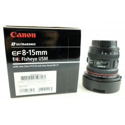 CANON EF 8-15 MM F4L FISHEYE USM