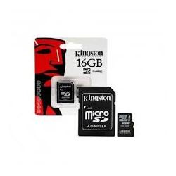 KINGSTON MICRO SD 16 GB UHS-I CLASSE 10 CON ADATTATORE SD